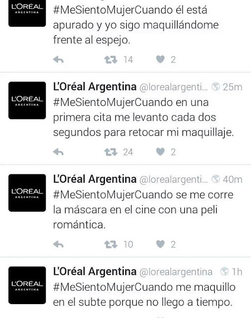 Loreal-argentina-Twitter