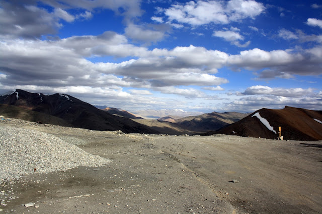 View, highest pass, route, manali, leh, ladakh, himalayas, mountains, snow clad
