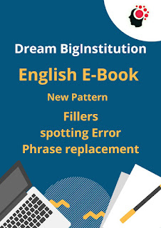 English E-Book For Competitive Exam Like SBI INSURANCE SSC IBPS RRB Etc,- Dream Big Institution
