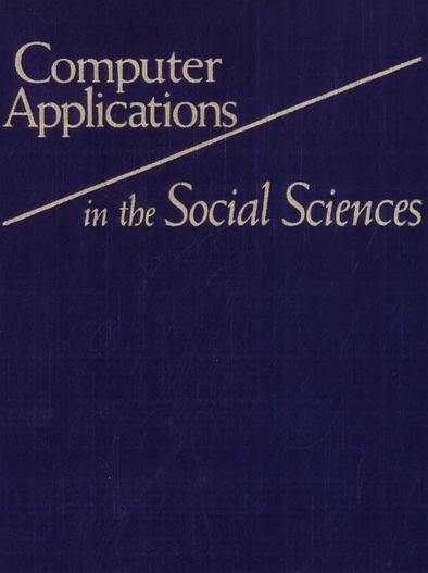 Computer Applications in the Social Sciences PDF Book Free Download