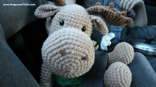 Amigurumitogo Moose : Moose on the loose free pattern amigurumi to go