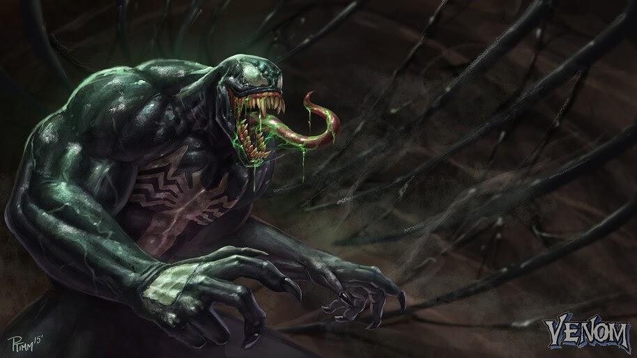 Venom, Marvel, Comics, 4K, #4.2935