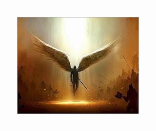 Malaikat Sayap Malaikat Dipatahkan dan Diasingkan di Bumi
