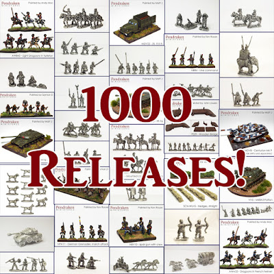 1000 Releases in 5 Years! from Pendraken Miniatures