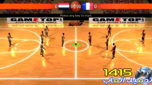 تحميل لعبة كرة السلة العالمية Basketball World -تحميل العاب