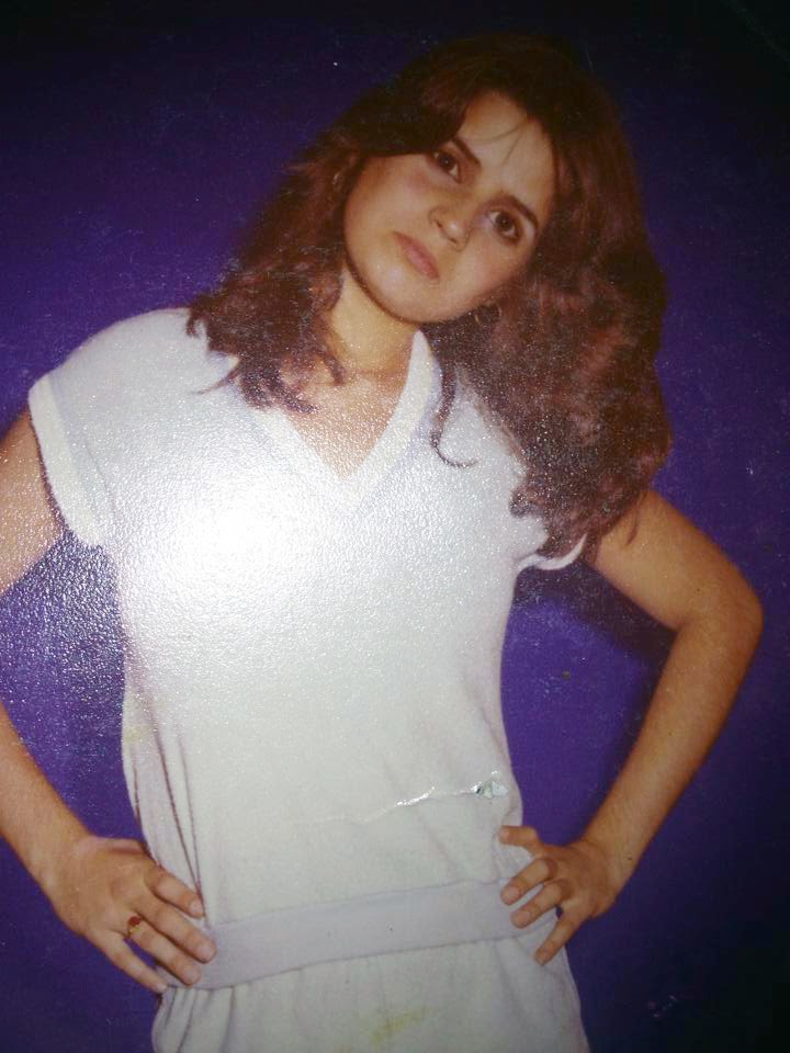 Denise Attilio while attending the Barbizon school for modeling