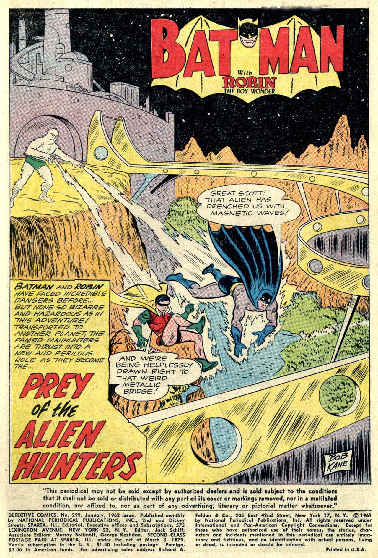 Detective Comics (1937) 299 Page 2