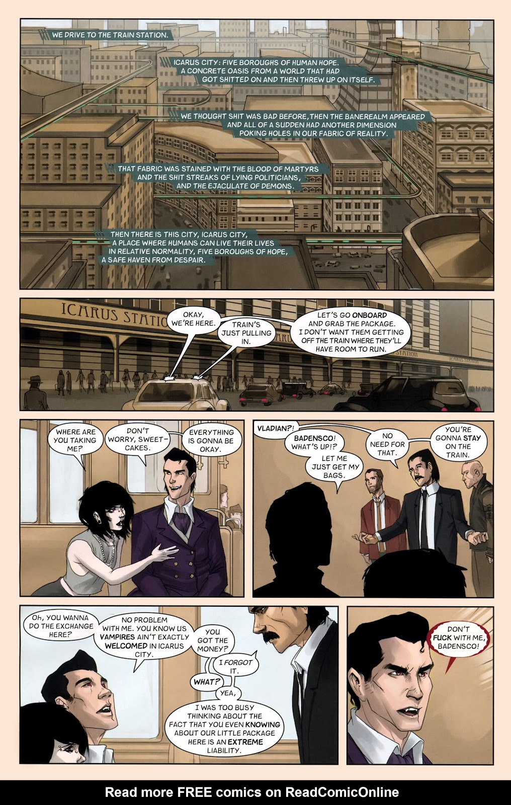 Read online Vescell comic -  Issue #7 - 6
