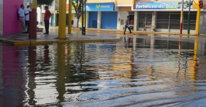 UGEL Santa suspende clases en los colegios tras lluvia de 4 horas