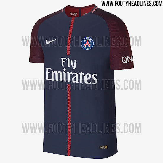 online store 4c78e 471f2 PSG 17-18 Home Kit Revealed - Footy Headlines