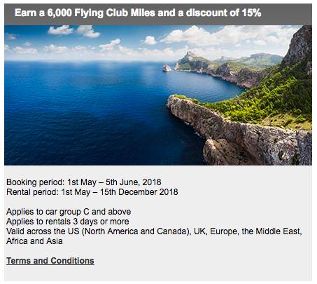 Upgrade Your Trip New Avis Car Rental Promo 6 000 Virgin Atlantic