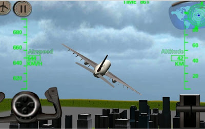 game 3d airplane flight simulator