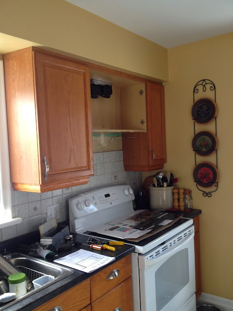 Hack Your Kitchen For An Over The Range Microwave Kitchen