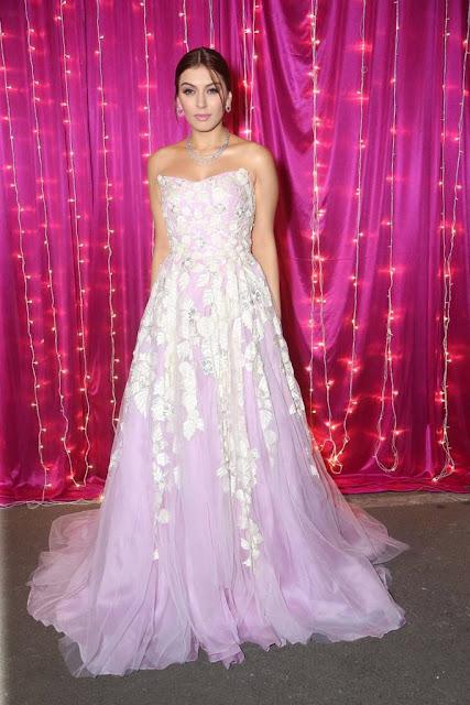 Hansika Motwani Latest Hot Glamourous Spicy Pink Sleveless