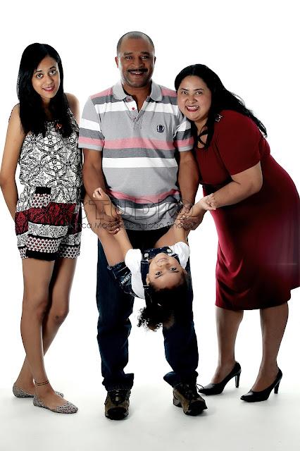 fotos da familia em estudio