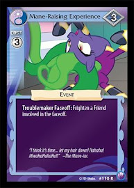 My Little Pony Mane-Raising Experience Canterlot Nights CCG Card