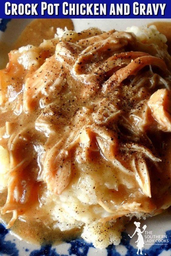 Crock Pot Chicken And Gravy