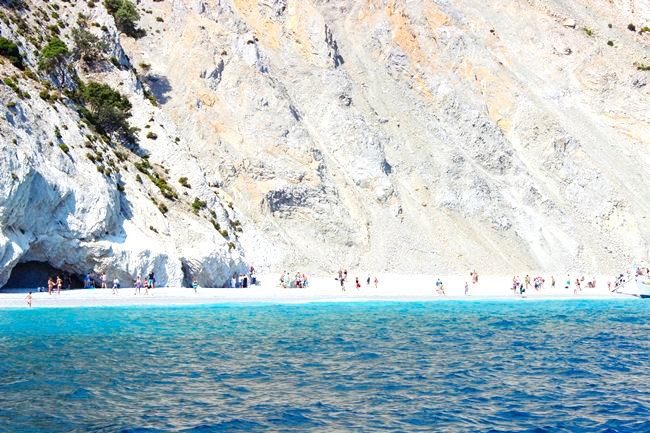 Skiathos island beaches trips by boat