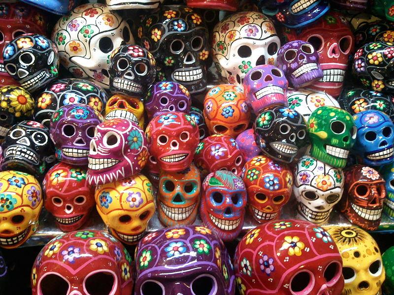 5ae1dd76f00c Dia de los muertos en Mexico - calavera mexicana (tatuaje)