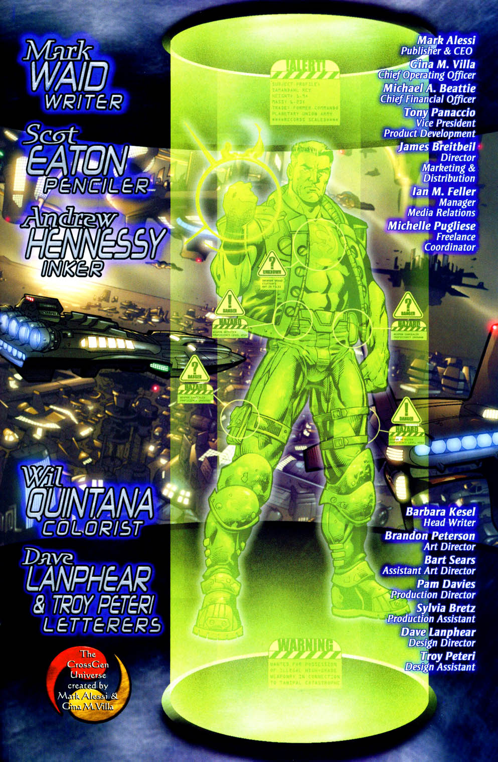Read online Sigil (2000) comic -  Issue #12 - 27