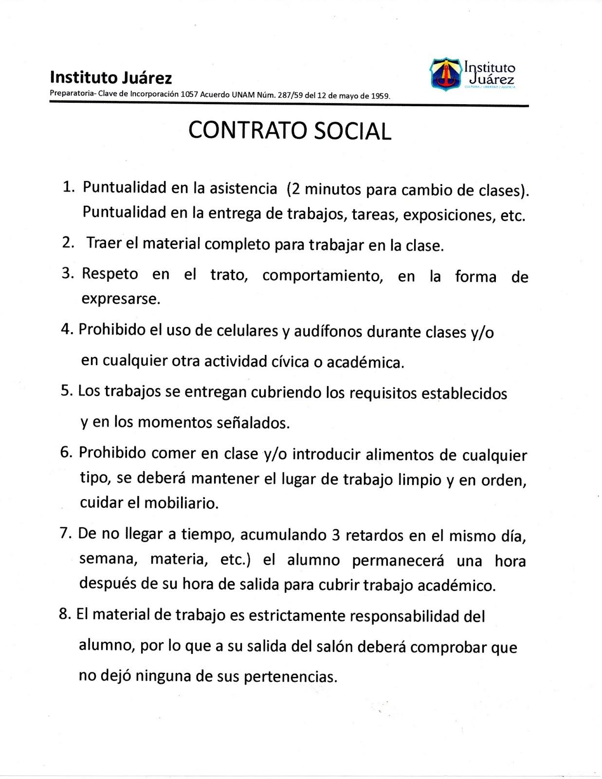 Preparatoria Contrato Social