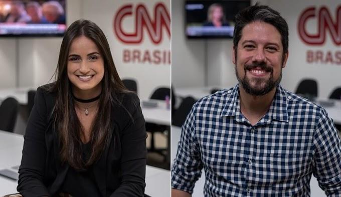 CNN Brasil anuncia as contratações de Phelipe Siani e Mari Palma