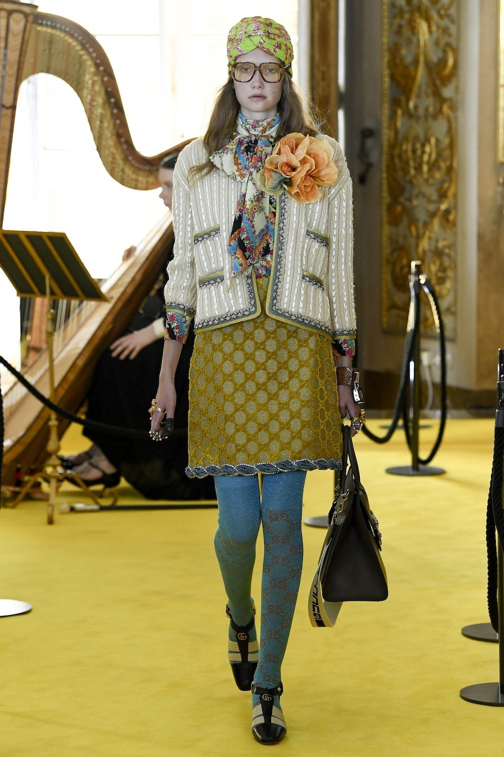 1a1848ebf4e13f Today I spotted this elegant and colorful Resort collection 2018 from Gucci.  Be Inspired .