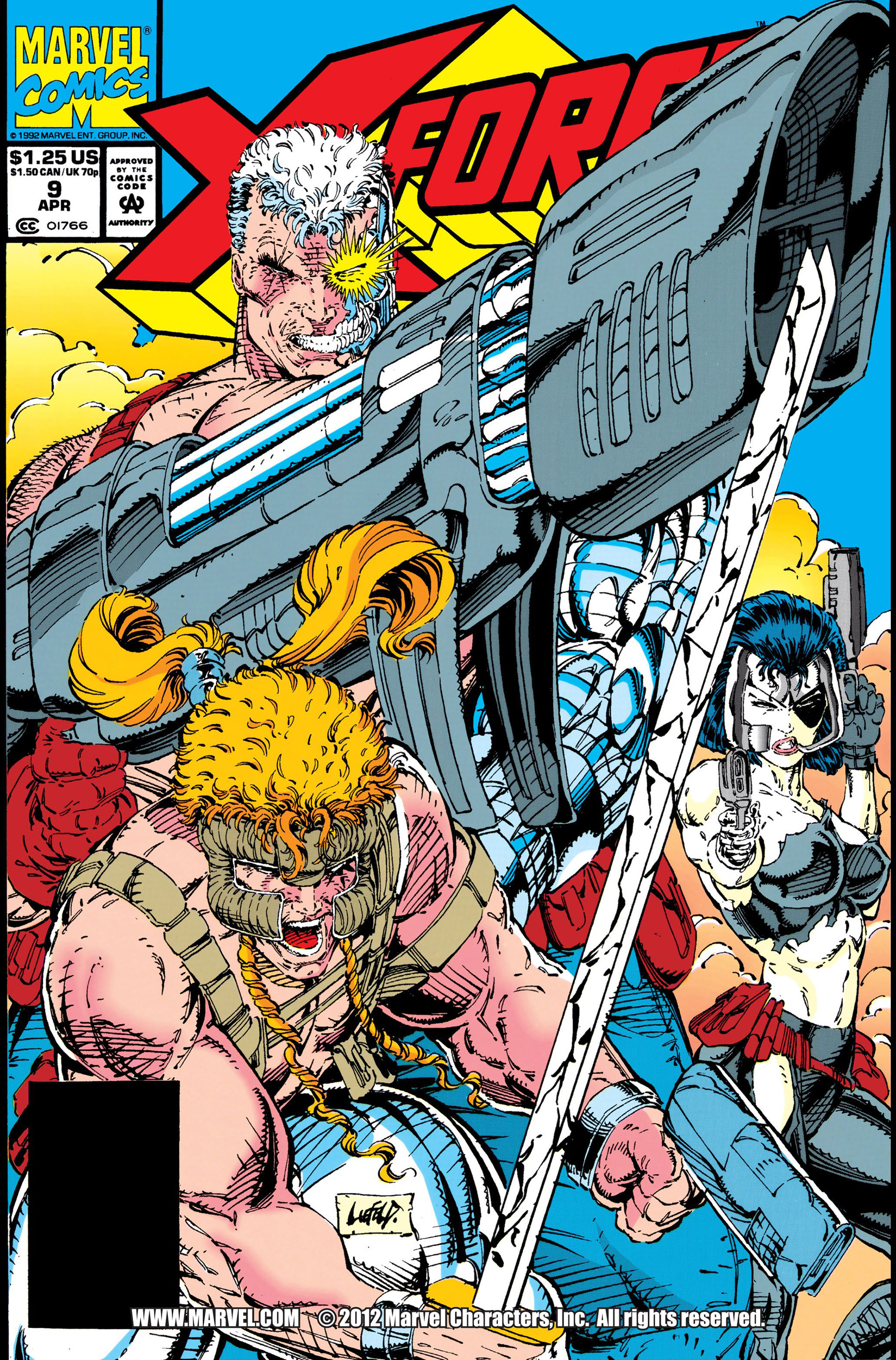 X-Force (1991) 9 Page 1