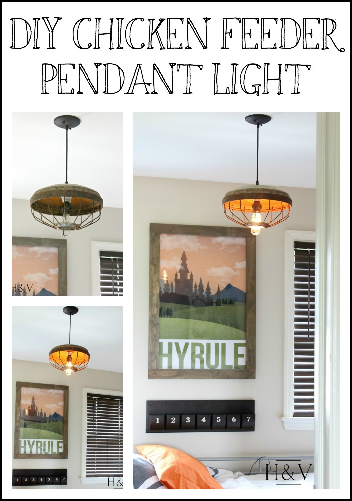 Diy En Feeder Light Pendant