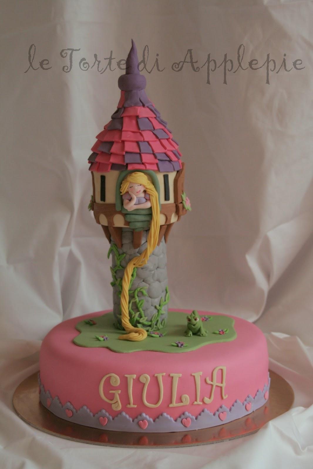 Favorito le torte di Applepie: Torta Rapunzel RK65
