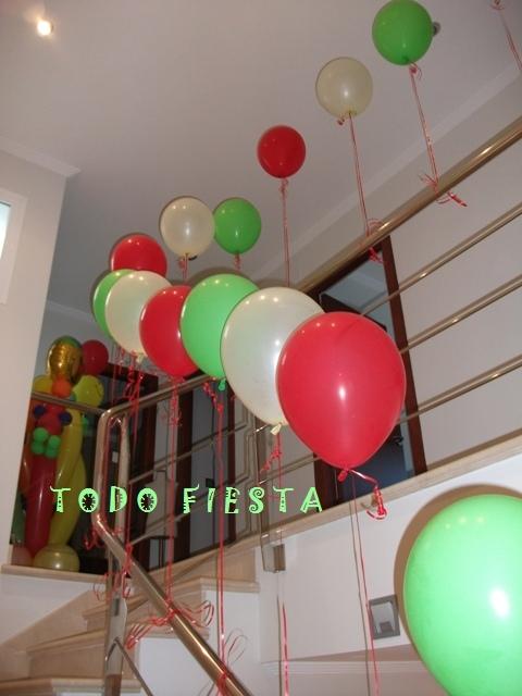 Decoraci n con globos de todo fiesta decoraciones para - Ideas para decorar cumpleanos de adultos ...