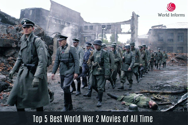 The different depictions of war in popular movies
