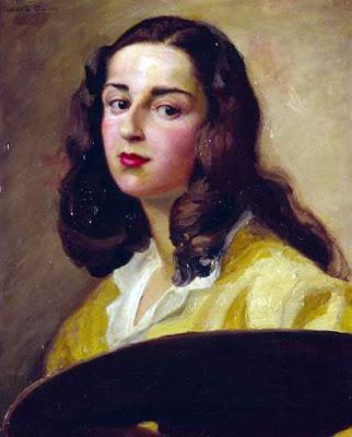 Autoportrait, Teresa Sanchez Gavito y Perdomo