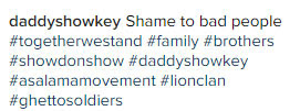 No more arrests: Daddy Showkey reconciles KCee & Harrysong
