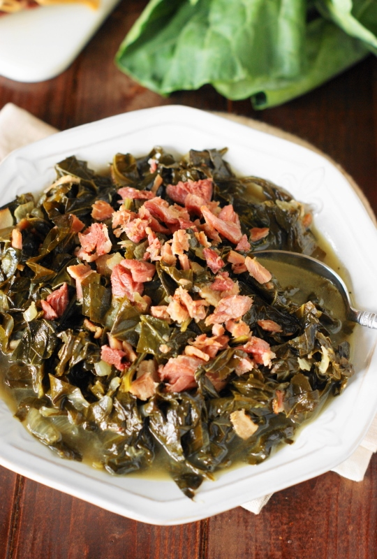 Southern Collard Greens Recipe | The Kitchen is My Playground