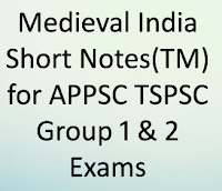 Bits in Telugu Medium for TSPSC Group 1 & Group 2 General Studies