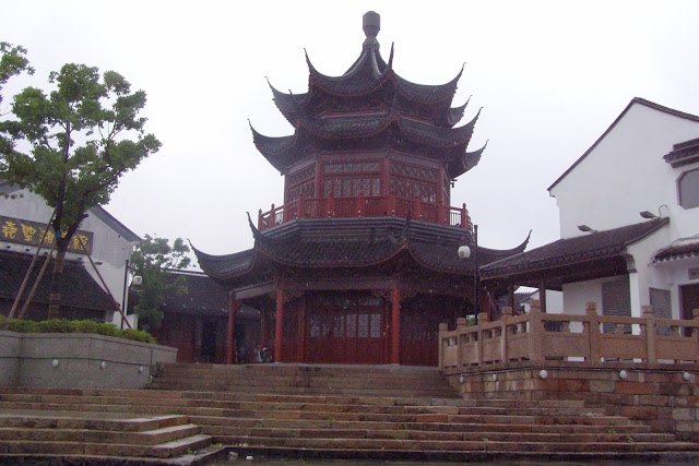 Suhzou Old City temple