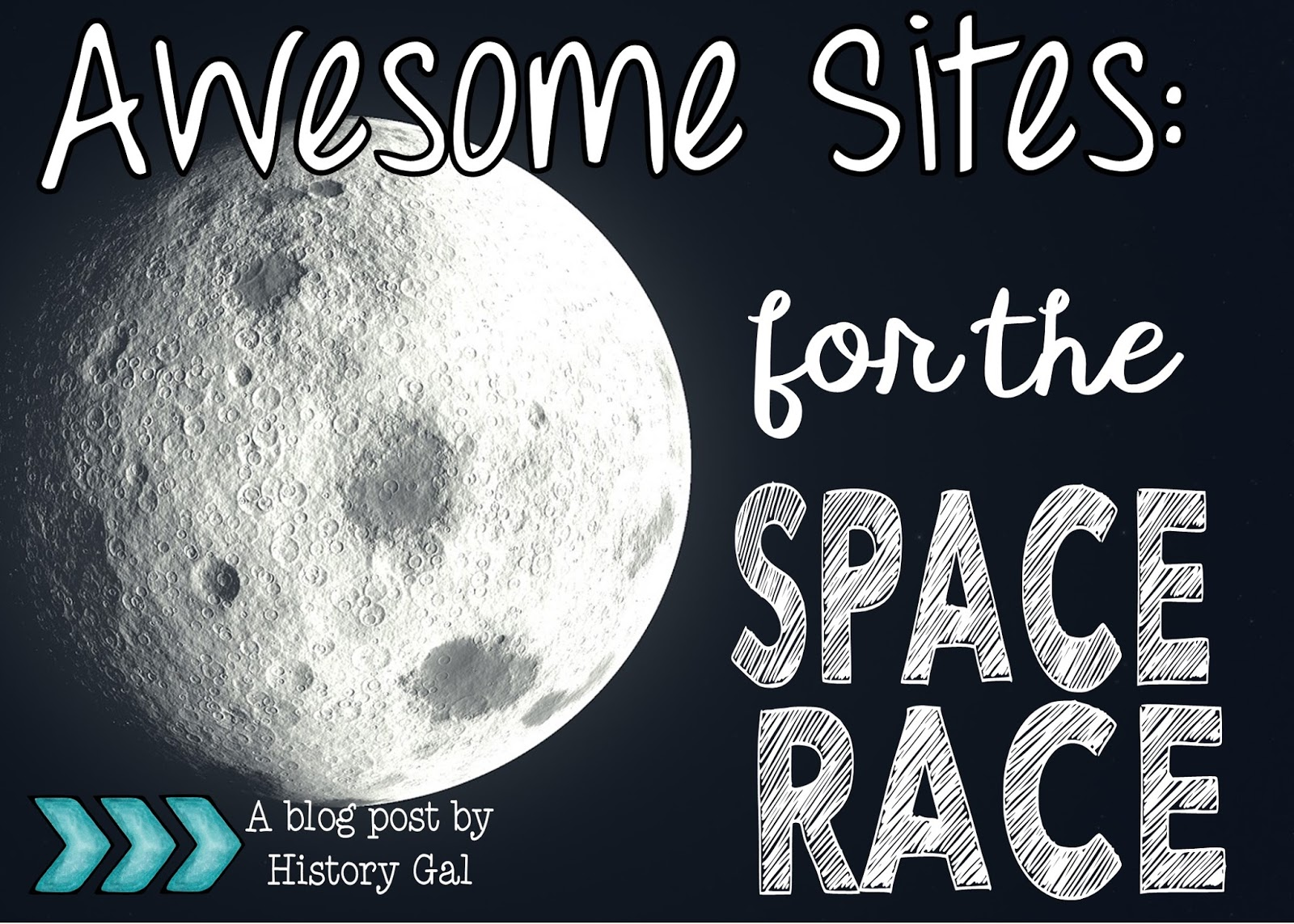 Engaging Sites to Teach the Space Race by History Gal