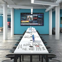 OFM Endure Standing Height Conference Table with Powered Surface