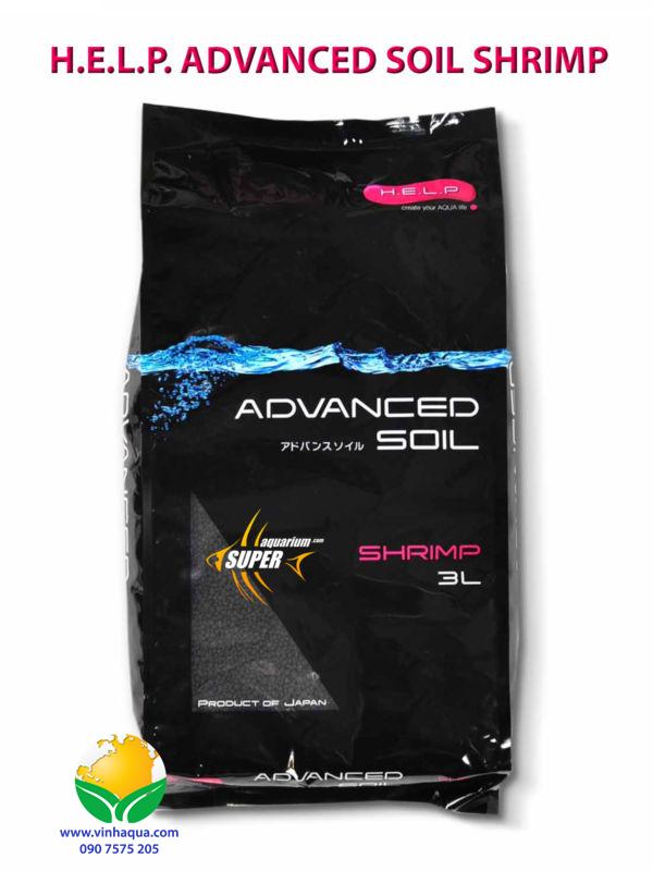 Phân nền thủy sinh Advanced Soil Shrimp 3L