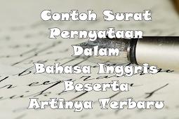 √ Contoh Surat Pribadi dalam Bahasa Inggris dan Artinya