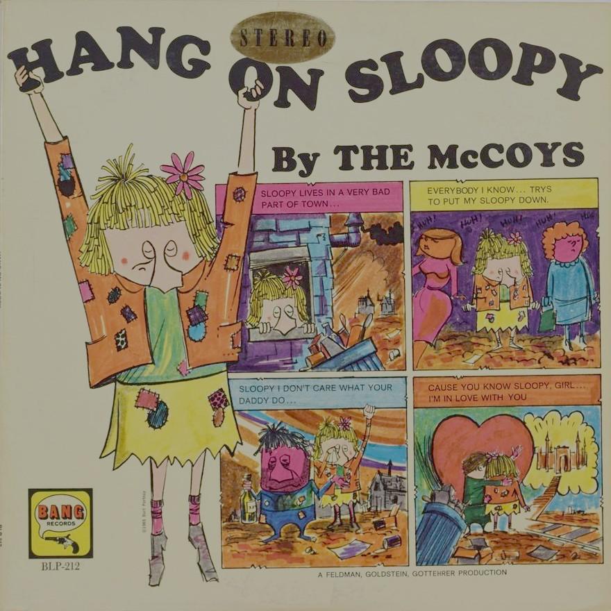 Rien que des vinyls: McCOYS - 1965 - US-BANG BLP 212 - Hang on ...