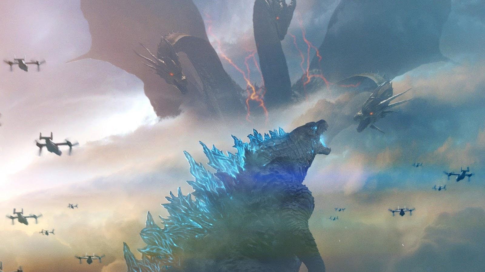Godzilla vs. King Ghidorah, Godzilla: King of the Monsters ...