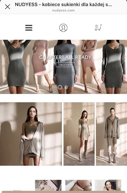 Sukienka idealna - ultrakobiece NUDYESS projekty fasony proste sukienki topy spódnice i wygodne dresy marki Nudyess podkreślająca figurę sylwetkę tuszuje niedoskonałości odcienie beżu kolory nude szarości klasyczna biel czerń styl Kim Kardashian opięte nowe odkrycie nowa marka projektantki dla kobiet seksowne wysokiej jakości tkaniny naturalne