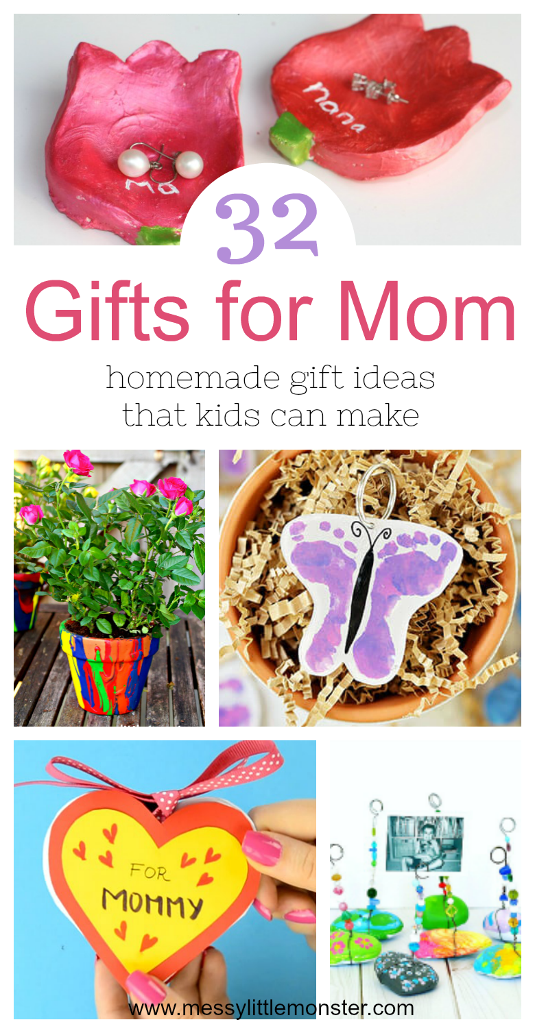 Mom From Kids Homemade Gift Ideas