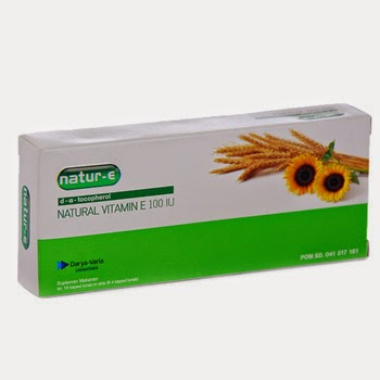 Natur-E : d - α - tocopherol (Natural Vitamin E) 100 IU