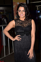 Wamiqa Gabbi in a sleeveless Black Designer Transparent Gown at 64th Jio Filmfare Awards South ~  Exclusive 002.JPG