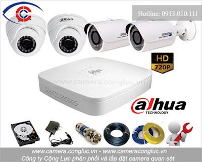 Lắp đặt trọn bộ camera giá rẻ tại Đình Đông Hải Phòng.