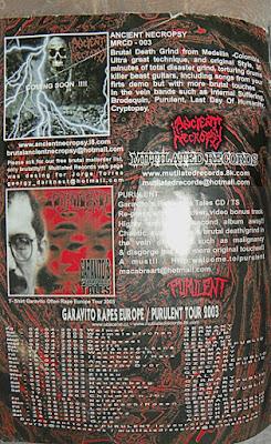 portada de metal en colombia