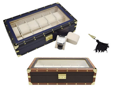 Shop Nile Corp Wholesale Leatherette Watch Box for 12 Watches